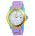 MADISON NEW YORK Limited Edition Unisex-Armbanduhr Candy Time Colour Festival Silikon U4484