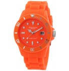 MADISON NEW YORK Unisex-Armbanduhr Candy Time Neon orange Quarz Silikon U4503