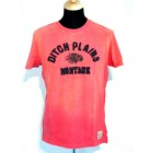 Ditch Plains New York original Sanbast lässiges T-Shirt Tee Shirt salmon rot S,M,L