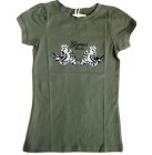 MOD Girly T-Shirt Stretch Shirt Tee kurzarm Games World tailliert olive XS-L