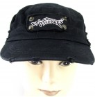 Chill Outs Hamburg Cap 4174 Schirmmütze Mütze vintage look black one size