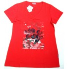 "Ringella ""it´s for you"" Damen Combi T-Shirt V-Neck mit Elasthan navy, red,white 36-46"