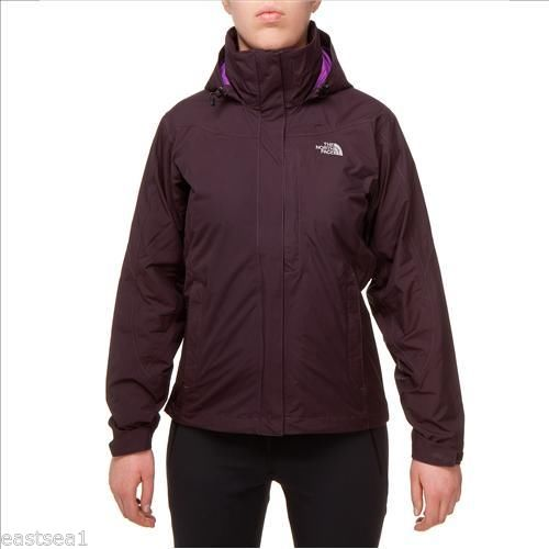 The-North-Face-Donna-W-Evolution-Giacca-Doppia-Giacca-Baroque-Purple-L-40-42