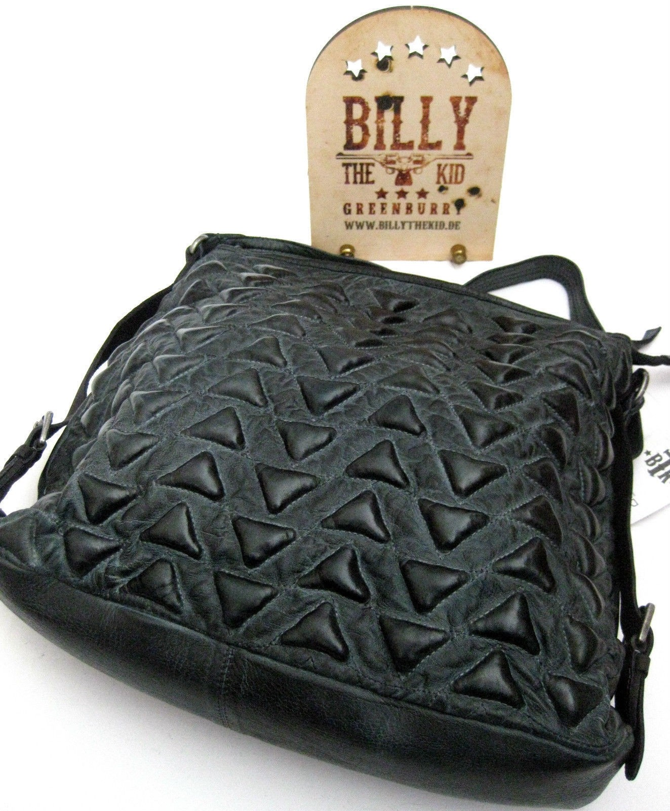Billy The Kid MAROKKO Ledertasche Umhängetasche Alia Damentasche petrol
