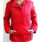 WPF Damen Regenjacke Weather Protecting Fashion Jacke Tomato/steelgrey S,M,L,XL