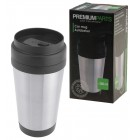 Car Mug Premium Parts Thermobecher Kaffeebecher Autobecher 380ml Edelstahlhülle