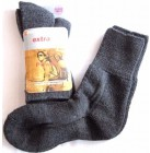 Georges Socken X-3 extra Dry Super Air Comfort warme Plüsch Power Socke grau 35/38