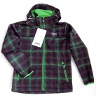 2117 of Sweden Boys Softshelljacke Kinderjacke Funktionsjacke  green-combi 164