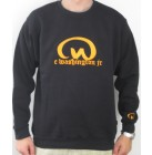Caesar Washington Jr. Premium Skaterwear Sweatshirt black Pullover M, L, XL