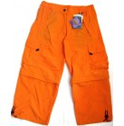 DEPROC  3/4 Damen Bermuda Caprihose SUPPLEX-Nylon mit UV-Schutz orange 38,40