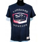 Ditch Plains New York Short sleeve Lifeguard Crew Tee Shirt navy M 48 oder L 50