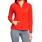2117 Fleece Jacke Flataklacken Jacke Frauen Power Fleecejacke rot 36,38,40,42,44