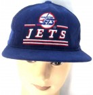 NHL USA Baseball Cap JETS, CFL ROUGHRIDERS licensierte Cordcap  Kappe blau grün one size