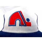 NHL USA Hockey  Cap Quebec Nordiques licensierte Cordcap Kappe bestickt  blau/weiss one size