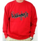 Caesar Washington Jr. Premium Sweater  Skaterwear Sweatshirt rot Pullover L 52