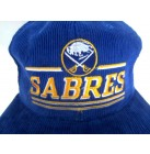 NHL USA Hockey  Cap Buffalo Sabres licensierte Cordcap Kappe bestickt  blau one size